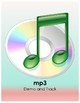 """""""Psalm 23"""" octavo w/ mp3 track for elementary/middle school choirs, 3-pt, 1-pt"""