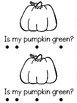 """Pumpkin Colors"" (Halloween/October Emergent Reader Dollar Deal)"