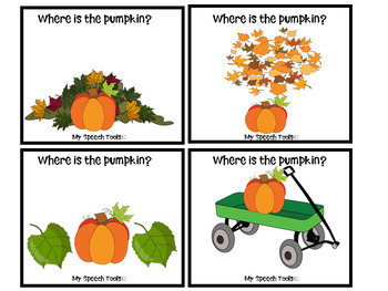 """""""Pumpkin Patterns and Prepositions"""" Basic Concept Activities for FALL"""