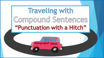 """""""Punctuation with a Hitch"""" - Traveling with Compound Sentences"""