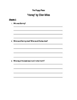 """""""Puppy Place - Honey"""" by Ellen Miles"""