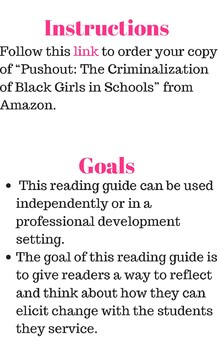 """""""Pushout"""" Reading Guide"""
