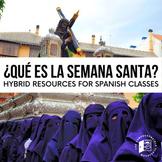 ¿Qué es la Semana Santa? - Hybrid and Virtual Learning resource pack