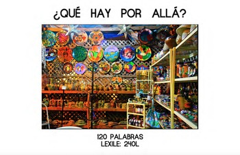 ¿Qué Hay Por Allá? – HFW Book + Wordless Book Activity for Beg. Spanish Readers