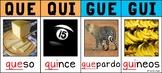 /Que/, /Qui/, /Gue/, /Gui/ – C Fuerte y G Fuerte Spanish P