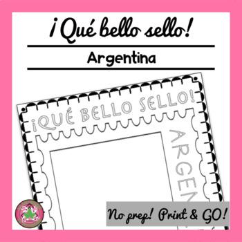 ¡Qué bello sello! - Argentina
