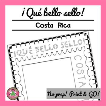¡Qué bello sello! - Costa Rica