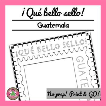 ¡Qué bello sello! - Guatemala