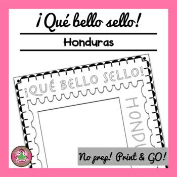 ¡Qué bello sello! - Honduras