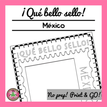 ¡Qué bello sello! - Mexico