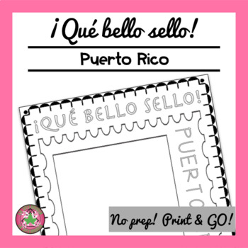 ¡Qué bello sello! - Puerto Rico