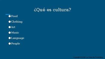 ¿Qué es cultura? Introduction to culture