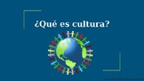PPT- ¿Qué es cultura? Introduction to culture