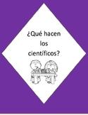 ¿Qué es ser un científico? Actividades para el diario interactivo