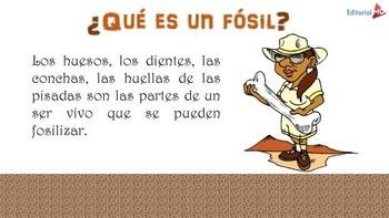 ¿Que es un Fosil? MATERIAL PARA IMPRIMIR
