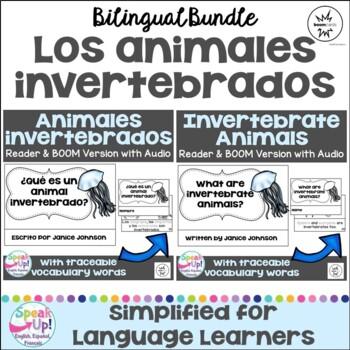 ¿Qué es un animal invertebrado? ~ What are Invertebrate Animals? Bilingual