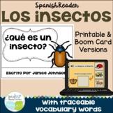 ¿Qué es un insecto? ~ Spanish Insect Reader {libro en español}