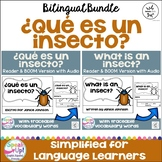 ¿Qué es un insecto? ~ What is an Insect? Science Readers {Bilingual bundle}