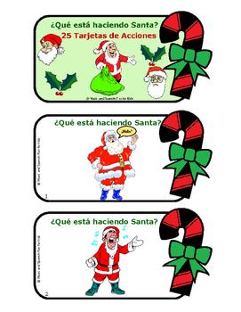 ¿Qué está haciendo Santa?
