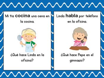 Spanish Question Words / Oraciones Interrogativas  ...verbs