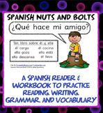 ¿Qué hace mi amigo?: A beginning Spanish verb workbook/rea