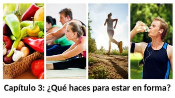 ¿Qué haces para estar en forma? - Vocab PowerPoint - Realidades 3 - Chapter 3