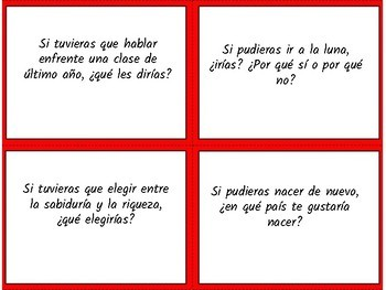 ¿Qué harías si...?  Questions to practice the imperfect subjunctive / Speaking