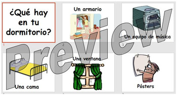 ¿Qué hay en tu dormitorio? - Teaching what furniture is found in a bedroom