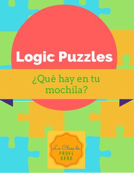 Logic Puzzles- ¿Qué hay en tu mochila?