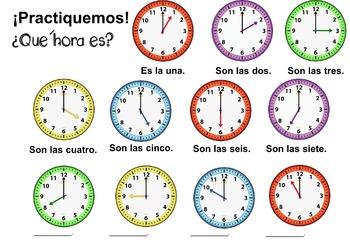 ¿Qué hora es? (Part I)