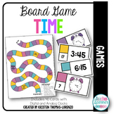 ¿Qué hora es? - Time Board Game