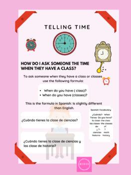 ¿ Qué hora es?- What time is it