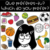 """""""Que préfères-tu?"""" / """"Which do you prefer?"""" Tabletop Learning Prompts FREEBIE"""