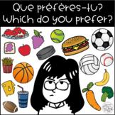"""""""Que préfères-tu?"""" / """"Which do you prefer?"""" Tabletop Learn"""