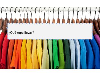¿Qué ropa llevas?