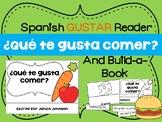 ¿Qué te gusta comer? Spanish Gustar Food Reader & Build-A-Book