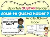 ¿Qué te gusta hacer? Spanish Gustar Verb Reader & Build-A-Book