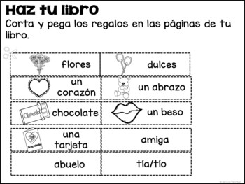 ¿Qué tienes para San Valentín? Spanish Valentine's Day Reader & Build-A-Book