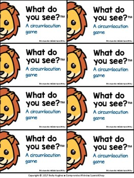 ¿Qué ves? (What do you see? - For all languages)
