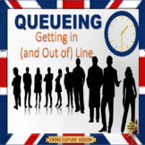 """Queueing"" - Symbol of civilization or dysfunction? ESL adults"