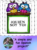 ¿Quién Soy Yo? - Spanish Activity / Poster Based on Student Descriptions