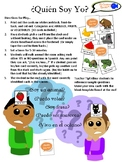 """¿Quién Soy Yo?"" Spanish Vocabulary Game! (Animals, Fruits & Vegetables)"