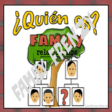 ¿Quién es?  Spanish Family Frenzy Game