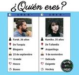 ¿Quién es quién? Who are you? Guess who / Adivina Quién Español Spanish