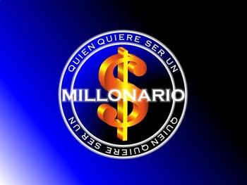 ¿Quien quiere ser un millonario? SPANISH REVIEW GAME! (IMPROVED & CUSTOMIZABLE!)
