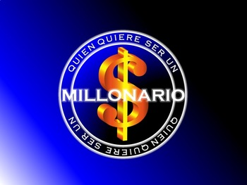 ¿Quien quiere ser un millonario? - SUPER FUN SPANISH REVIEW GAME!