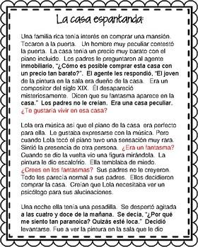 """""""Quiero que vuelvas"""" by Lasso:  Movie Talk for Any Supernatural Unit"""