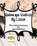 """""""Quiero que vuelvas"""" by Lasso:  Movie Talk for Any Superna"""