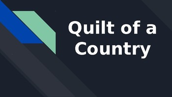 """""""Quilt of a Country"""" based on Florida's Collections Series"""