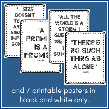 """Quote Printables for Dan Gemeinhart's ""The Honest Truth"